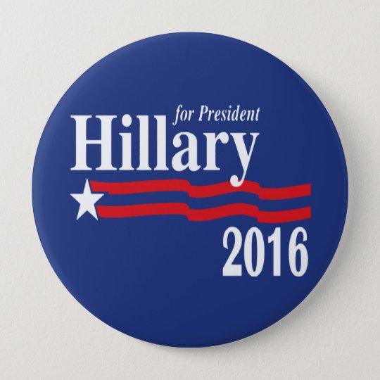 Hillary Clinton für Präsidenten 2016 Knopf (XXL) Runder Button 10,2 Cm
