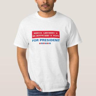 Hillary Clinton für T-Stück Präsidenten-Monica T-Shirt