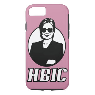 "Hillary Clinton ""HBIC"" iPhone Fall iPhone 8/7 Hülle"