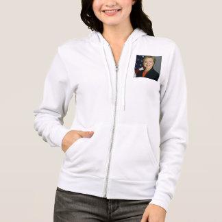 Hillary Clinton Hoodie-Sweatshirt-Weiß 2016 Hoodie
