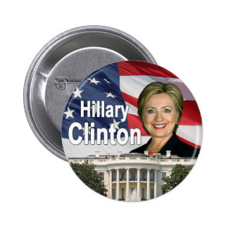 Hillary Clinton-Knopf Runder Button 5,1 Cm