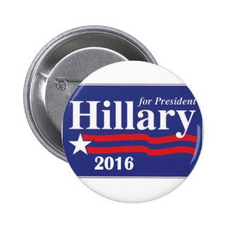 Hillary Clinton pour le Pin de président 2016 bout Badge Rond 5 Cm
