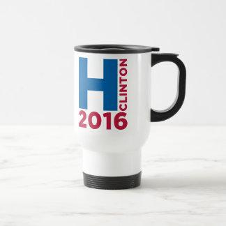 Hillary H Clinton 2016 Reisebecher