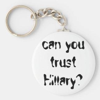 Hillary Keychain Standard Runder Schlüsselanhänger