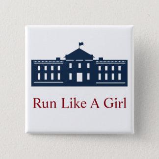 Hillary-Knopf Quadratischer Button 5,1 Cm