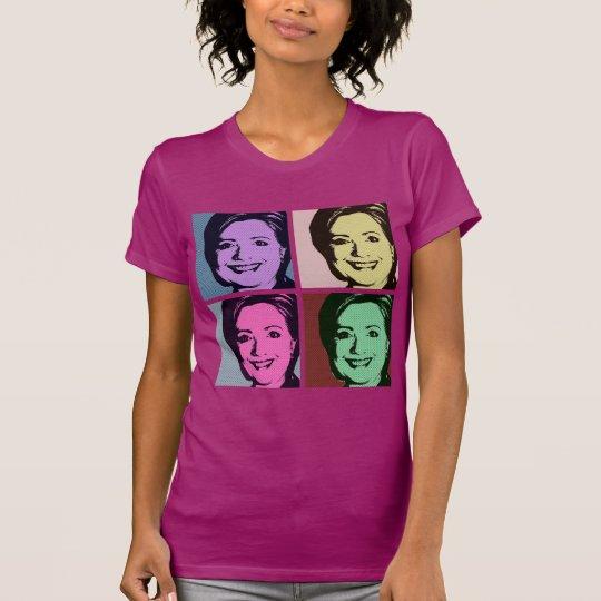 HILLARY-POP-KUNST T-Shirt