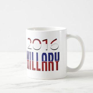 Hillary-Wahl 2016 - Abstimmung Demokraten Tasse