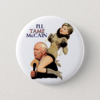 Hillary zahmer McCain Pinup-Knopf Runder Button 5,1 Cm