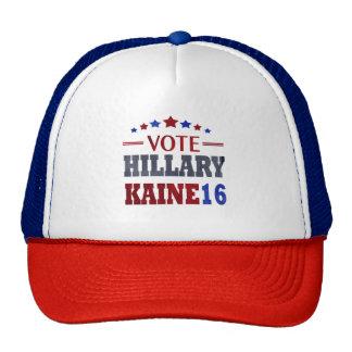 HillaryKaine16 Hillary Clinton und Tim Kaine Kult Mützen