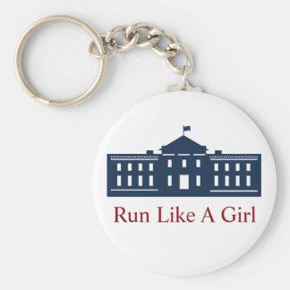 Hillaryschlüsselkette Standard Runder Schlüsselanhänger