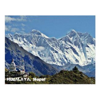 HIMALAJA - eine von 1000 Ansichten von NEPAL Postkarte