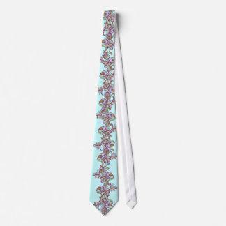 Himbeere Paisley Individuelle Krawatten
