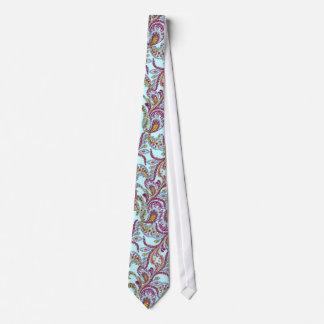 Himbeere Paisley Personalisierte Krawatten