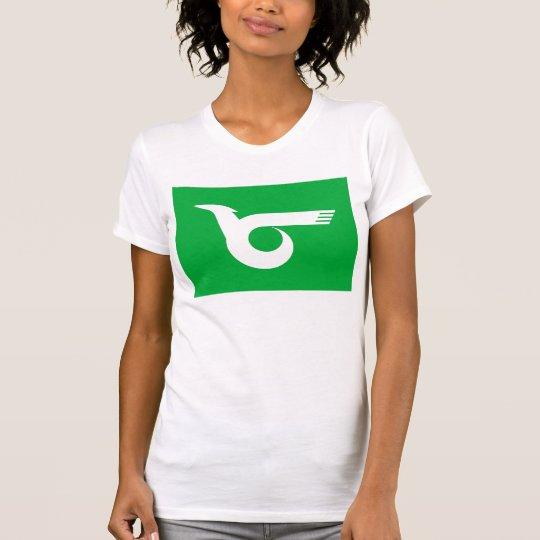 Himeji-Stadtflagge Hyogo-Präfekturjapan-Symbol T-Shirt