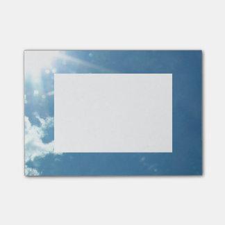Himmel 5992 - Sun und Wolken Post-it Klebezettel
