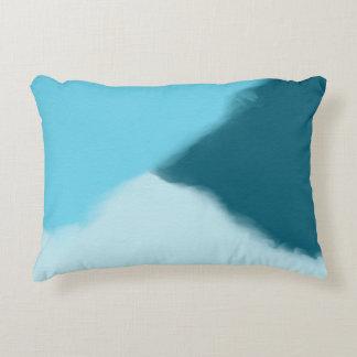 Himmel-Blau abstrakt Dekokissen