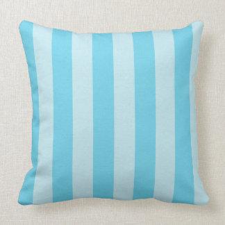 Himmel-Blau-Zen Stripes dekoratives Wurfs-Kissen Kissen