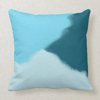 Himmel-Blauabstraktes dekoratives Throw-Kissen Zierkissen