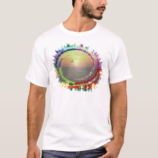 Himmel der Regenbogen-Erden T-Shirt