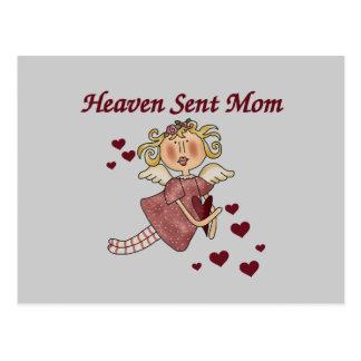 Himmel gesendete Mamma-T - Shirts und Geschenke Postkarte