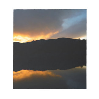 Himmel im Spiegel Schmierblock