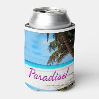 Himmel, Strand, Palmen - Paradies! Dosenkühler