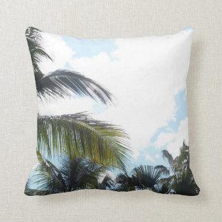 Himmel-und Palmen Kissen