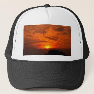 Himmel und Wolke/Sonnenuntergang Truckerkappe