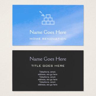 """""""Himmel-"""" Zuhauserenovator-Geschäfts-Karten Visitenkarte"""