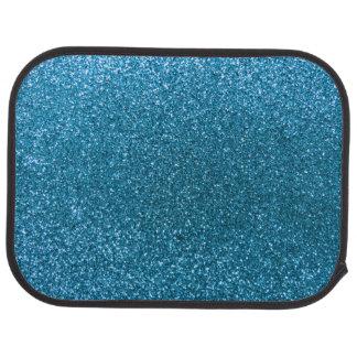 Himmelblau-Glitter Autofußmatte