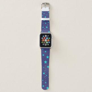 Himmels-Hintergrund mit Stern-Apple-Uhrenarmband Apple Watch Armband