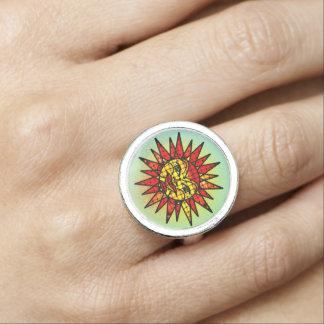 Himmlischer Sun-Ring Ring