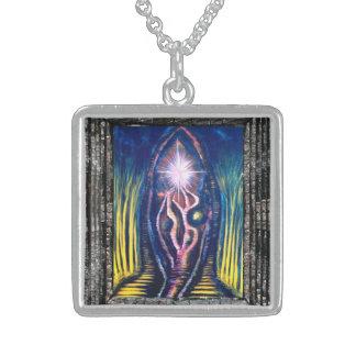 Himmlisches Licht Sterling Silberkette