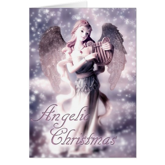 Himmlisches Weihnachten Grußkarte