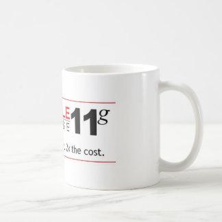 Hindernis-Datenbank 11g Kaffeetasse