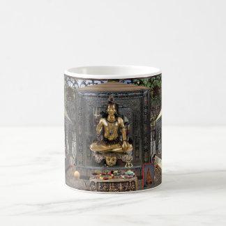 Hindischer Tempel-weiße klassische Kaffee-Tasse Kaffeetasse