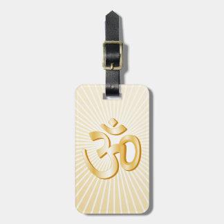 Hindisches Symbol Gepäckanhänger