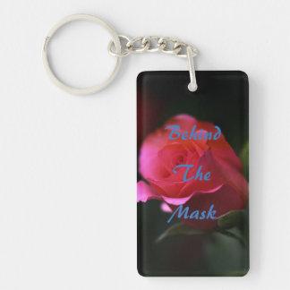 Hinter der Maske Keychain Schlüsselanhänger
