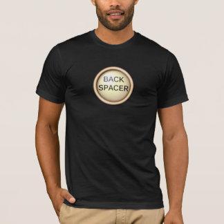 Hintere Distanzscheibe - schreiben Sie Schlüssel T-Shirt