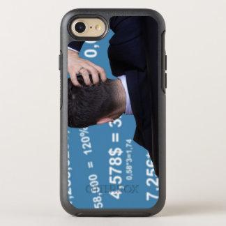 Hinteres Porträt eines Geschäftsmannes verwechselt OtterBox Symmetry iPhone 8/7 Hülle