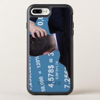 Hinteres Porträt eines Geschäftsmannes verwechselt OtterBox Symmetry iPhone 8 Plus/7 Plus Hülle