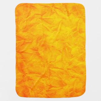 Hintergrund PAPIER-BESCHAFFENHEIT - orange Gelb Babydecke
