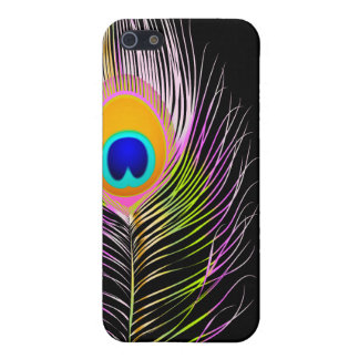 Hintergrund PixDezines Pfaus plume/DIY Etui Fürs iPhone 5