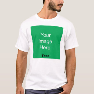 Hintergrund, Test T-Shirt