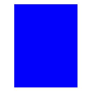 Hintergrundfarbblau schafft Ihre eigene Gewohnheit Postkarten