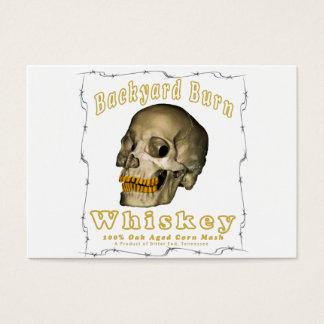 Hinterhof-Brand-Whisky Visitenkarte