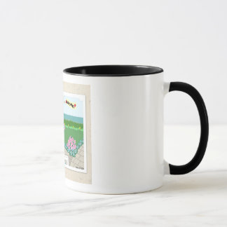 Hinterhof-Garten-Tasse Tasse