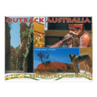 Hinterland Australien Postkarte