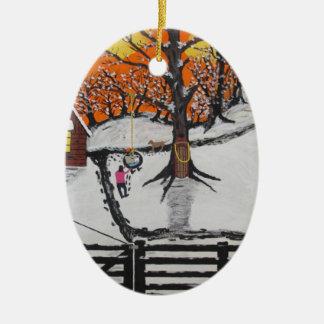 Hinterwälder-Kabine Keramik Ornament
