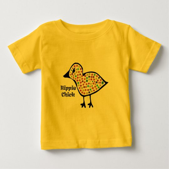 Hippie-Kinder Baby T-shirt